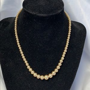 Coro Jewelry - Delicate Vintage CORO signed Pearl Necklace